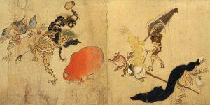 https://commons.wikimedia.org/wiki/File:Hyakki-Yagyo-Emaki_Tsukumogami_1.jpg