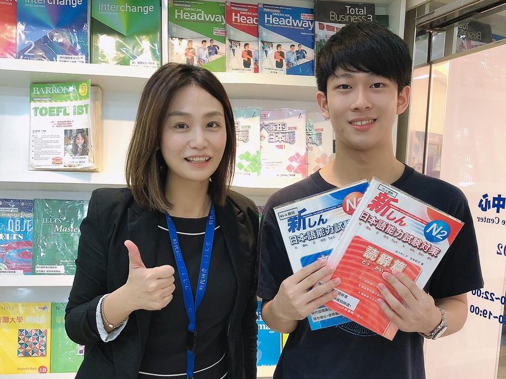 時代國際的顧問都很用心的幫助學生,還有免費的日檢模擬考~大推!